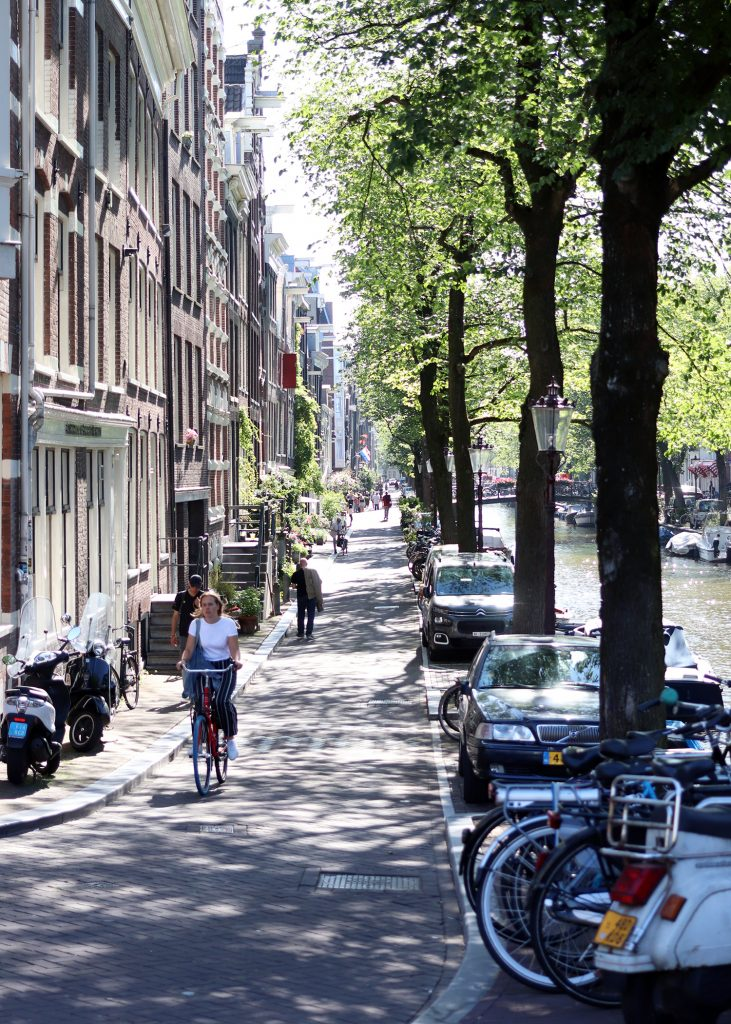 Unterwegs in Amsterdam: Jordaan Viertel & westlicher ...